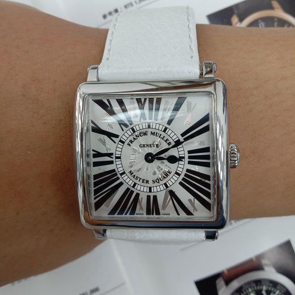 玖泰流當品 原裝 FRANCK MULLER 法蘭克穆勒 6002 石英 女錶 9成9新 喜歡價可議 ZR520